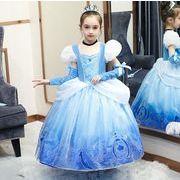 ハロウィン フォーマル キッズドレス シンデレラ 子供服 ピアノ発表会 プリンセスドレス