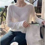 【NEW】ソフトニット★韓国ファッション★秋服★ニット★セーター★トップス★レディース
