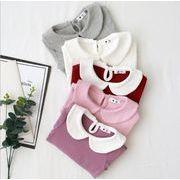 女の子 秋 冬 Tシャツ キッズ ブラウス トップス  長袖シャツ  女の子 90-140 11色