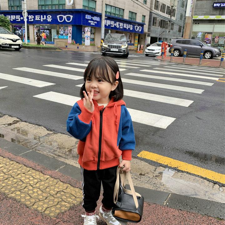 韓国子供 韓国ファッション スウェットパンツ ボア