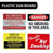 【タバコ】AMERICAN プラスティックサインボード【禁煙エリア、手を洗いましょう他】