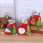クリスマスバッグ ラッピング袋 ギフトバッグ クリスマス飾り