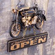 OPEN & CLOSED ビンテージ プラッケ オールドバイク ★