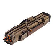 ハードロッドケース スタンドホルダー付き 防水性 耐衝撃性 釣り 竿 バッグ肩掛け 手提げ3WAY
