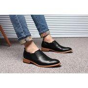 メンズ ビジネスシューズ 紳士靴 アップ シークレット 革 レザー ブーツ