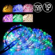 LED チューブライト 10m 360球 防水 16の点灯パターン