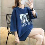 2020新作 トップス Tシャツ レディース 韓国 ファッション ゆるやか