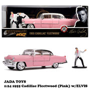 1:24 ELVIS PRESLEY 1955 CADILLAC FLEETWOOD w/ELVIS 【エルヴィス プレスリー ミニカー】