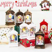 クリスマス用品 LEDライト ランプ スタンドライト Christmas限定 デコレーション 装飾 トナカイ サンタ