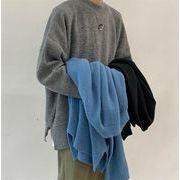 Newタイプついに入荷!ゆったりする 怠惰な風 秋冬 ニット カップル トップス セーター 男女兼用
