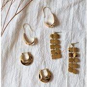 ピアス アクセサリー 合金 金属 不規則 韓国 オシャレ ファッション