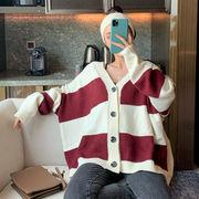 ファッション 気質 秋冬 セーターの女性 新しいデザイン 韓国風 何でも似合う アンティ