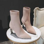 韓国ファッション ヒール ブーツ パンプス
