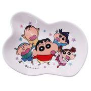 【小皿】クレヨンしんちゃん 磁器製豆皿 かすかべ防衛隊