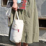 Romane brunch brother 縦型 帆布 トートバッグ カジュアルバッグ