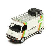 ixo/イクソ FIAT 242 アシスタントカー TOTIP JOLLY CLUB 1985 ルーフラック&タイヤ付