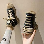 ネット レッド アッパー高い レジャー スポーツシューズ 女 靴 秋冬 新しいデザイン