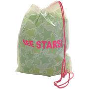 ビニール巾着袋(グリーン) 箱/ケース売 200入