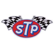 【ステッカー】STP 防水ステッカー LOGO FLAG