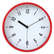 掛け時計 ハリー Φ22cm レッド