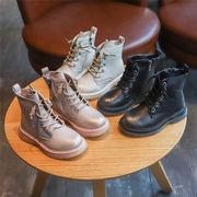 女児 ブーツ 秋と冬 新しいデザイン 韓国風 中 大 子供 児子供 靴 王女 風 マーテ