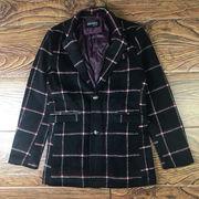 男 秋と冬 アウターウェア ウールコート 青年 イギリスの格子縞 スーツ 羊毛の ハンサ