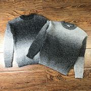秋 男 セーター 韓国風 ヒットカラー 丸襟 ニット ルース 短いスタイル ヘッジ ボト