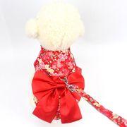 新発売 正月 小型犬 中型犬 ハーネス リード セット 胴輪 ペット用品