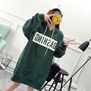 春夏新作 731986大きいサイズ 韓国 レディース ファッション    パーカー   LL-4L