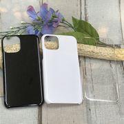 プリント・デコ用素材★iPhone11pro max用☆ハードケース★ポリカーボネート 全3色