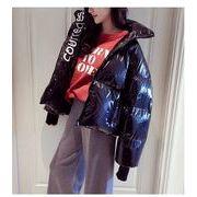 韓国ファッション 綿コート
