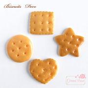 デコパーツ スイーツデコにおすすめ 本物そっくり!クッキーパーツ 40個/YM1-1375