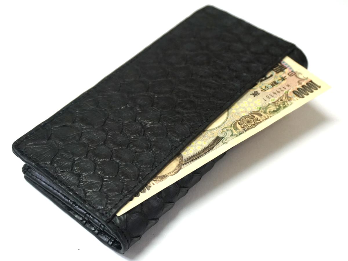 金運財布】ブラックパイソン紳士長財布 ST-002BK ファッション雑貨 株式会社 フルコード | 問屋・仕入れ・卸・卸売の専門【仕入れならNETSEA】