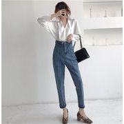 即納だから安心!韓国 ファッション ゆったりする 百掛け 春 夏 新 スリム ロングパンツ