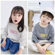 春新入荷★大人気★ベビー赤ちゃん服★キッズ女の子 トップス★Tシャツ(80-130)