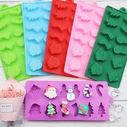 チョコレートモールド クリスマス 氷型 DIY 製氷皿