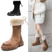 【海外買付】靴冬用 ショートブーツ ハイカットブーツ 裏起毛 カジュアル マーティンブーツ
