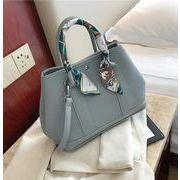 新作 バッグ PU レザー 純色 ハンドバッグ ファッション 韓国風 上品