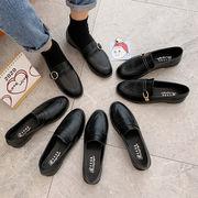 ブラック 英国スタイル 小さな靴 女 春 新しいデザイン 韓国風 何でも似合う 工 ロー