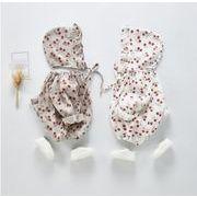 2020春新作★ベビー赤ちゃん★ロンパース 帽子付き 66cm-100cm