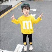2019新作★キッズ女の子★トップス Tシャツ+レギンス★2点セット★ 80cm-120cm