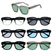 ★sunglasses&optical★  ウェリントン  オールプラスチックフレーム  サングラス【全6色】