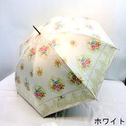 【晴雨兼用】【長傘】UVカット率99%!ビクトリアケープ柄大寸晴雨兼用ジャンプ傘