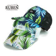 Rubenボタニカルメッシュキャップ ヤング帽子