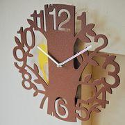 ウォールクロック 振り子掛時計 ピークス