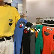 トップス Tシャツ レディース ファッション カラー 多色 シンプル オーバーサイズ 韓国