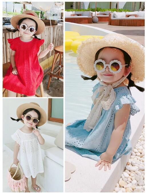 韓国ファッション 韓国子供服 ワンピース 2020春夏新作 子供服 ワンピース 7-15 3色