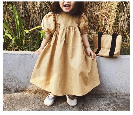 韓国ファッション 韓国子供服 ワンピース 2020春夏新作 子供服 スカート  90-130cm