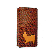 ◆本革6連キーケースとチャームのセット◆犬種カラーを選択可◆犬種全5色 チワワ