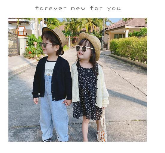 韓国ファッション 韓国子供服  2020春夏新作 子供服 男女兼用 ニットトップス 80-130cm